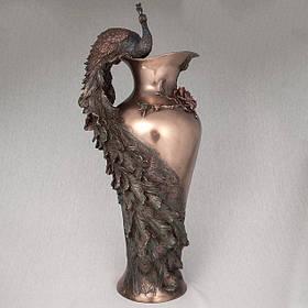 Ваза Veronese Павлин 50 см (10505 V4)
