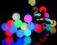 Уличная новогодняя гирлянда  50 ламп multi 5 метров