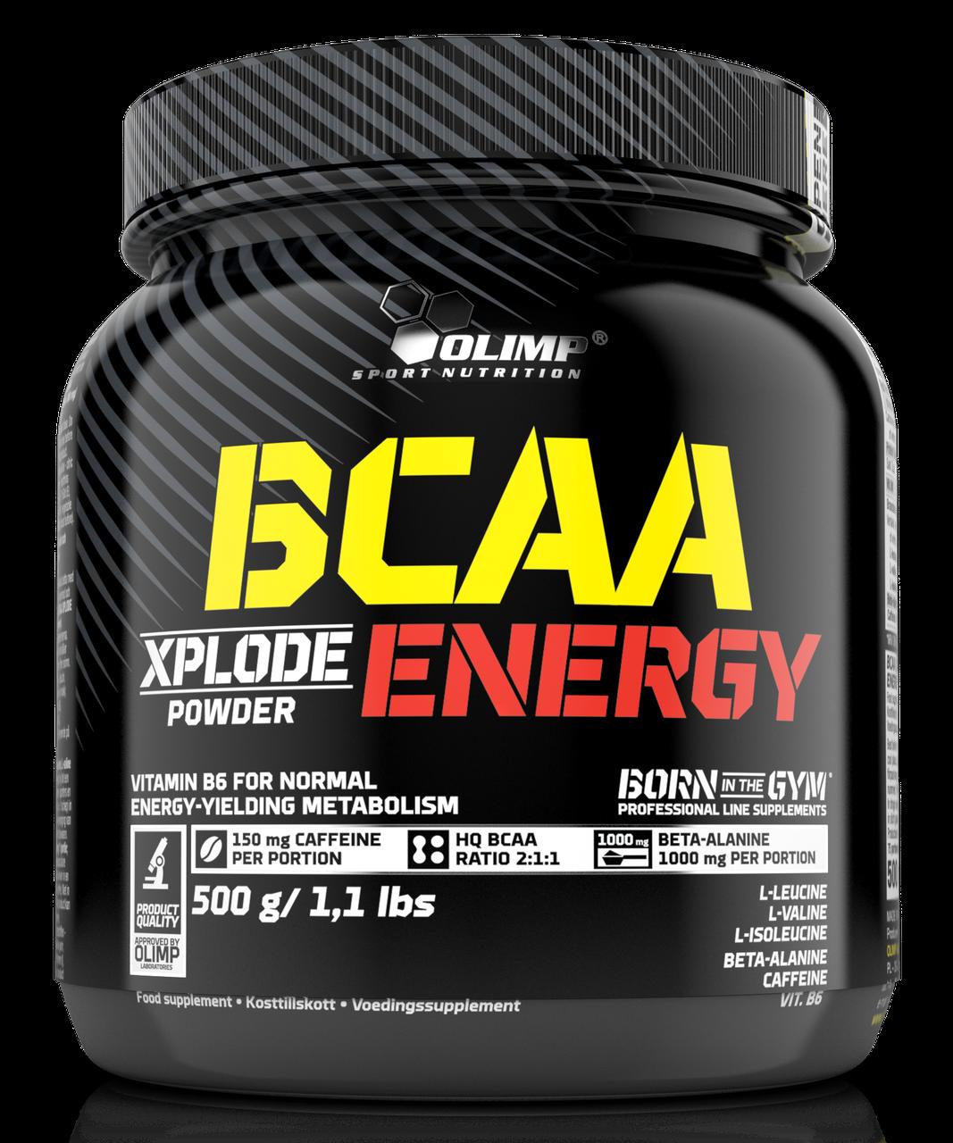 Аминокислоты Olimp BCAA Xplode ENERGY 500 g