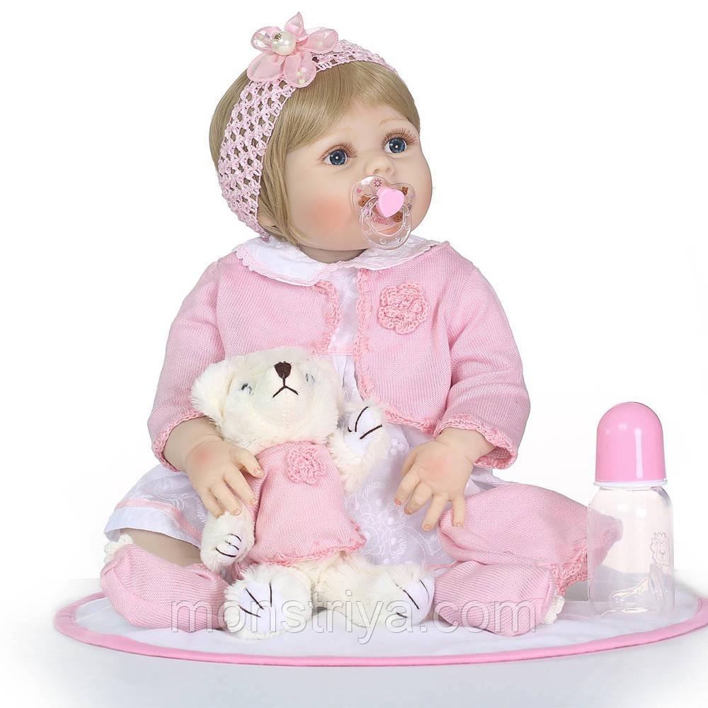 Кукла реборн девочка полностью из винил-силикона /Кукла,пупс reborn
