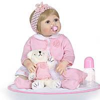 Кукла реборн девочка полностью из винил-силикона /Кукла,пупс reborn, фото 1