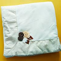 Плед - конверт для новорожденных( велюр)
