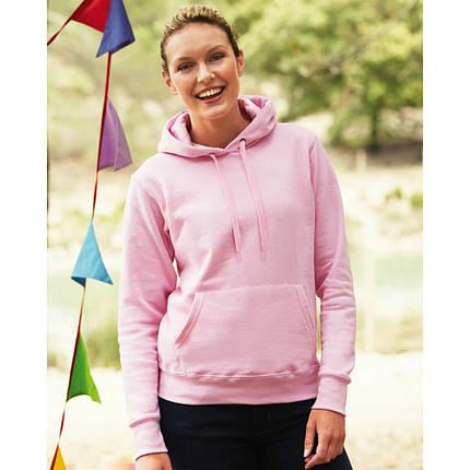2238959d Женская классическая толстовка худи с капюшоном Hooded Sweat Lady-Fit  62-038-0