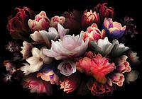 Фотообои цветы 368x254 см Большой букет (10972CN)