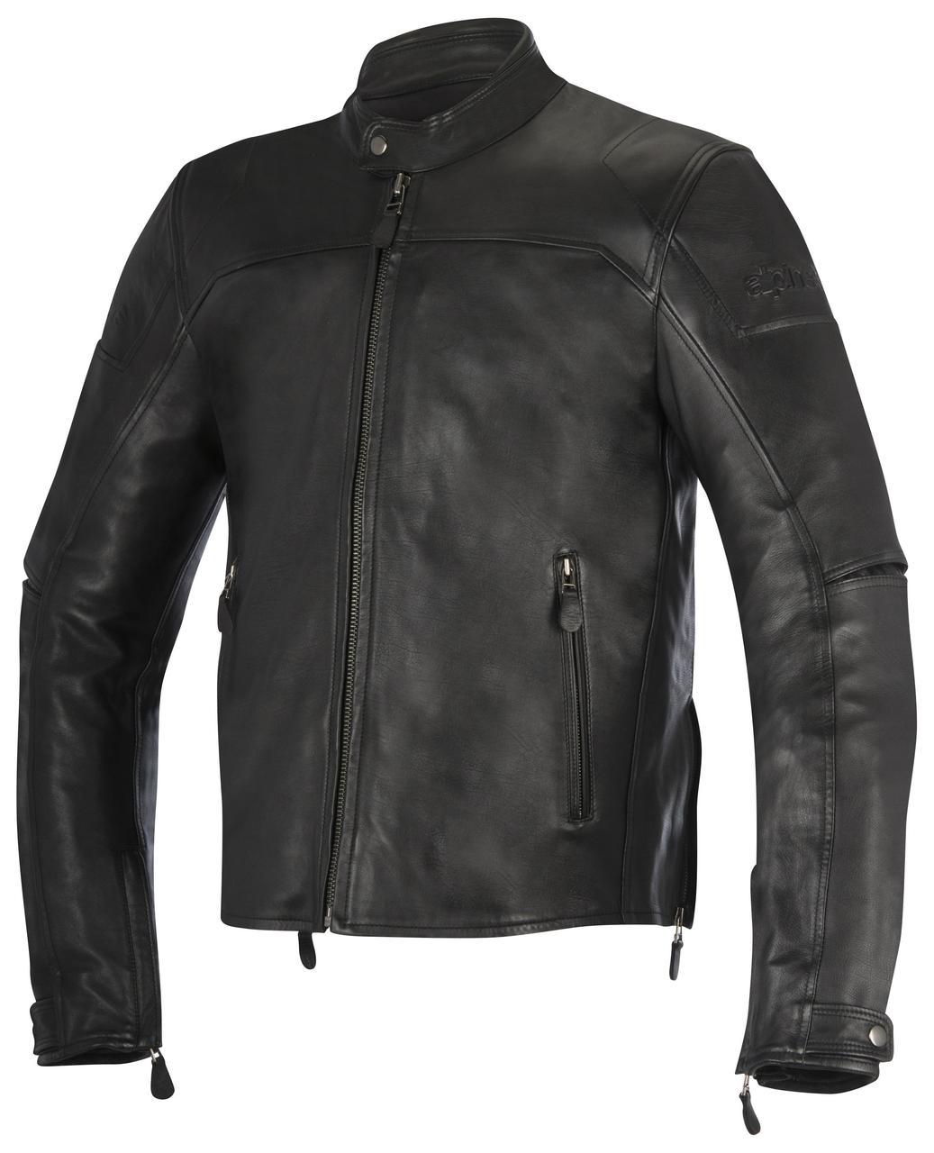 "Куртка Alpinestars BRERA black кожа ""56"""