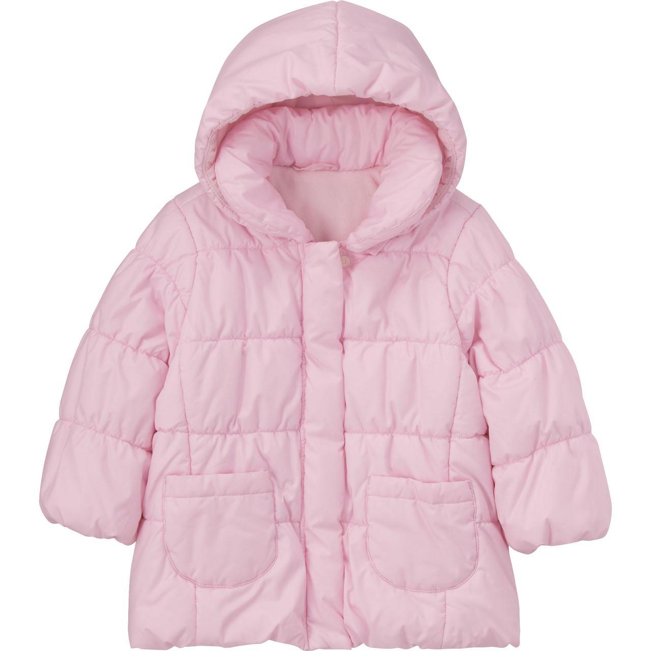 Куртка детская Uniqlo Toddler Body Warm Lite PINK