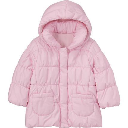 Куртка детская Uniqlo Toddler Body Warm Lite PINK, фото 2