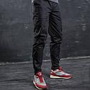 Карго штаны мужские черные от бренда ТУР модель Веном (Venom). Размер S, M, L, XL, XXL, фото 5