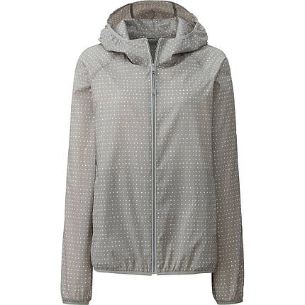 Куртка Uniqlo Women Light Pocketable Printed Parka GRAY, фото 2