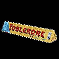 Шоколад TOBLERONE Молочный шоколад с миндалём, 100г (1ящ/20шт)