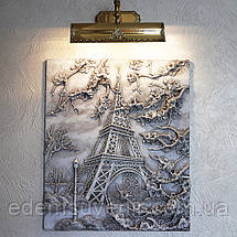 Панно объемное Париж светящееся, фото 2