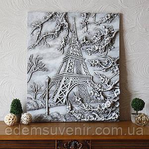 Панно объемное Париж светящееся