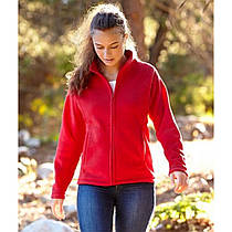 Женский тёплый флис на молнии Full Zip Fleece Lady-Fit 62-066-0