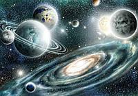 Фотообои флизелиновые 3D 368x254 см Космос и звезды (11896CN)