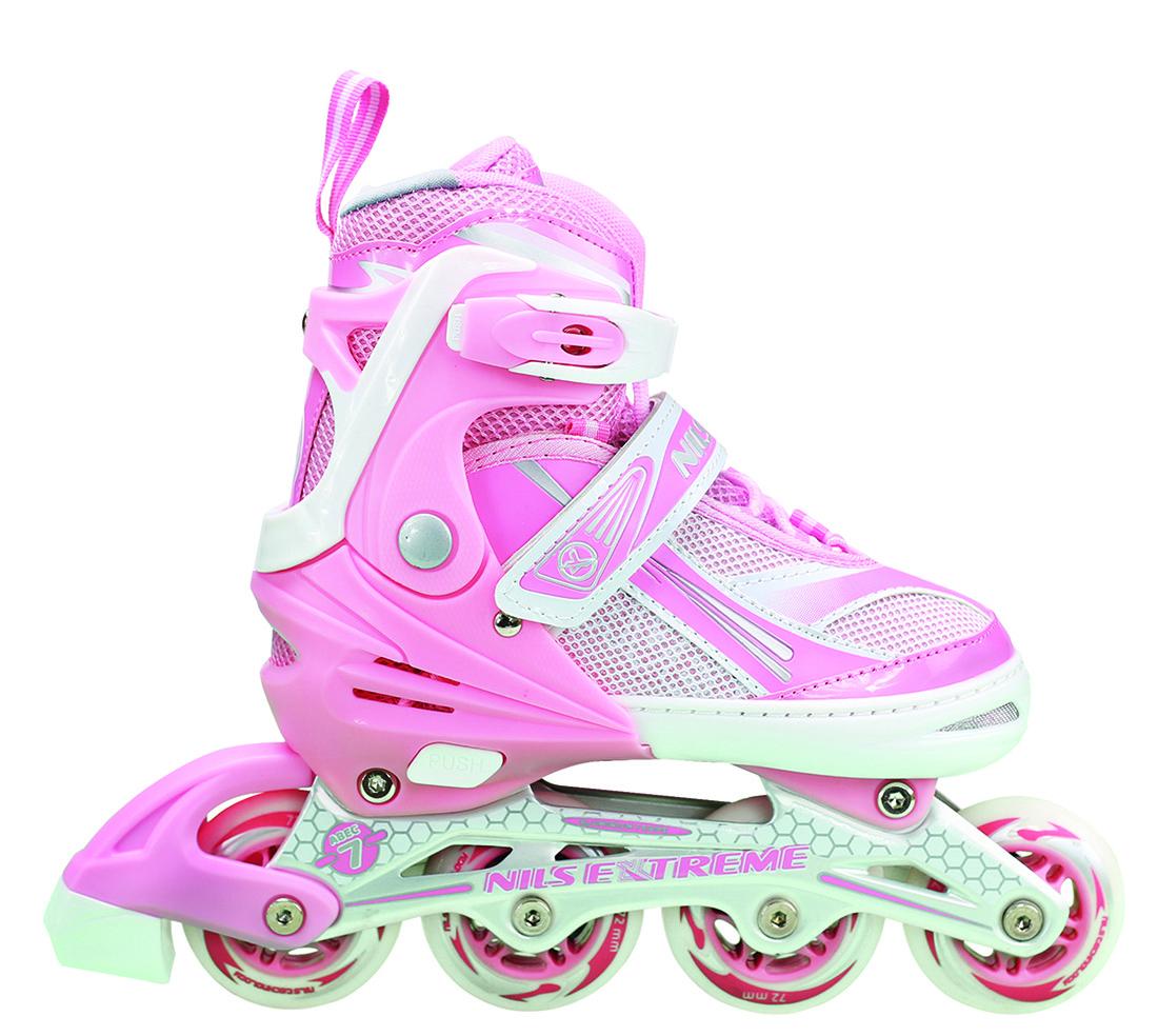Роликовые коньки Nils Extreme NA1123A Size 39-42 Pink