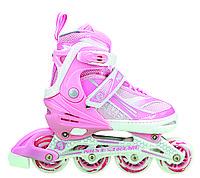 Роликовые коньки Nils Extreme NA1123A Size 39-42 Pink, фото 1