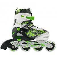 Роликовые коньки Nils Extreme NJ9012A Size 31-34 Green, фото 1
