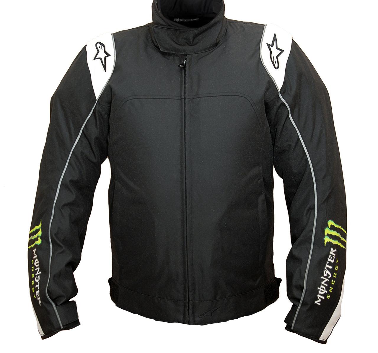 "Куртка Alpinestars CHASE black\green\white текстиль ""XL"""