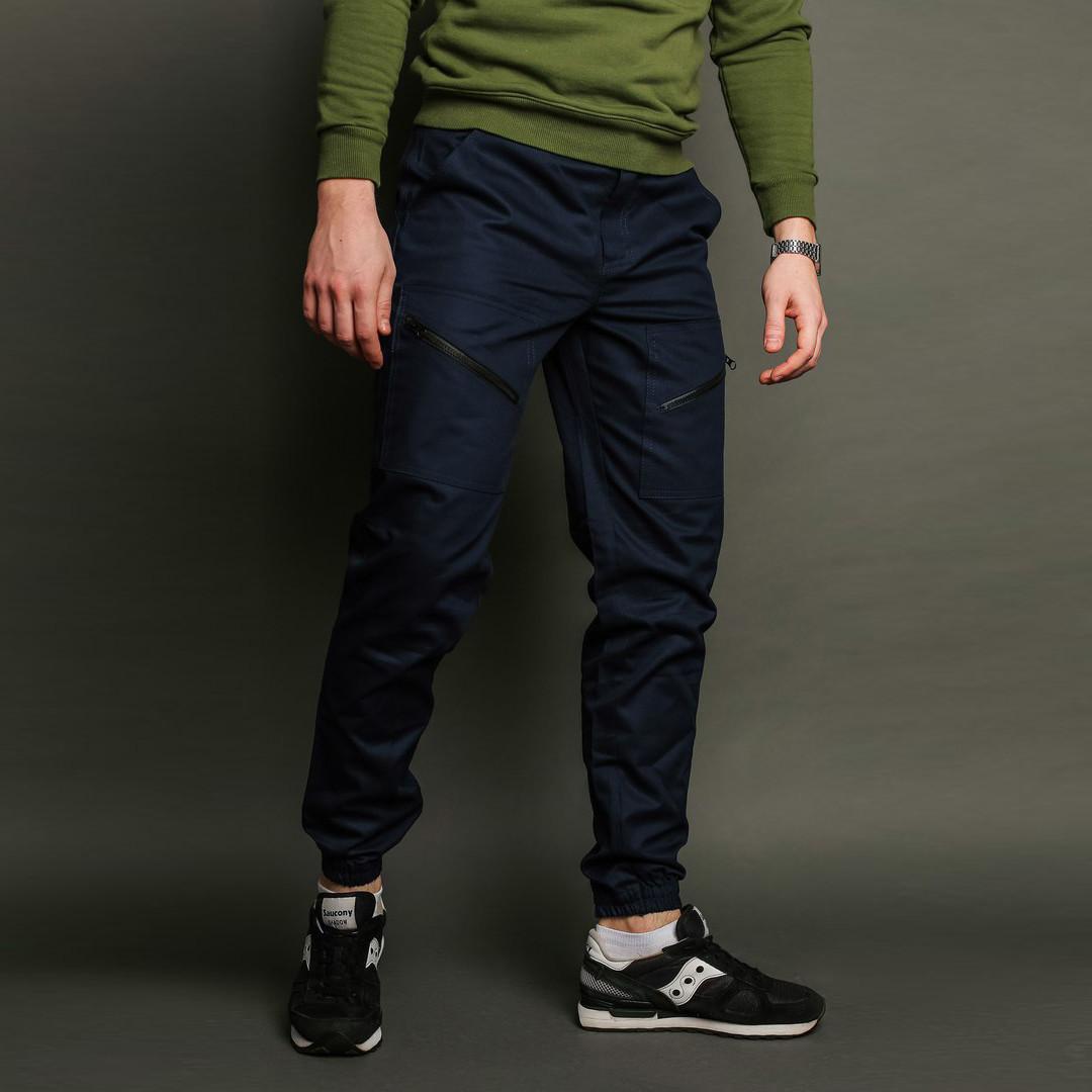 Карго штаны мужские темно синие бренд Тур модель Апачи (Apache) размер S,M,L,XL,XXL