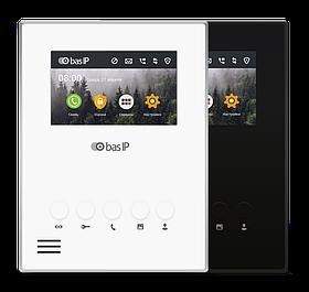 IP Видеодомофон - BAS-IP AU-04L White/Black