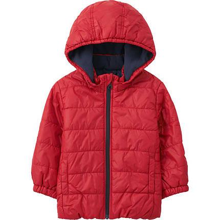 Куртка Uniqlo toddler body warm lite full-zip Red, фото 2