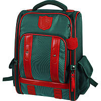 Рюкзак каркасный ZiBi Imperial Club GREEN школьный ZB16.0631GN