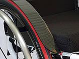 Активна інвалідна коляска для дорослих GTM Mobil Jaguar Active Wheelchair, фото 7