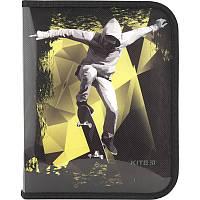 Папка для тетрадей на молнии Kite Cool Skateboarder B5 K18-203-4