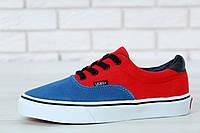 Мужские кеды Vans Era 59 Blue/Red