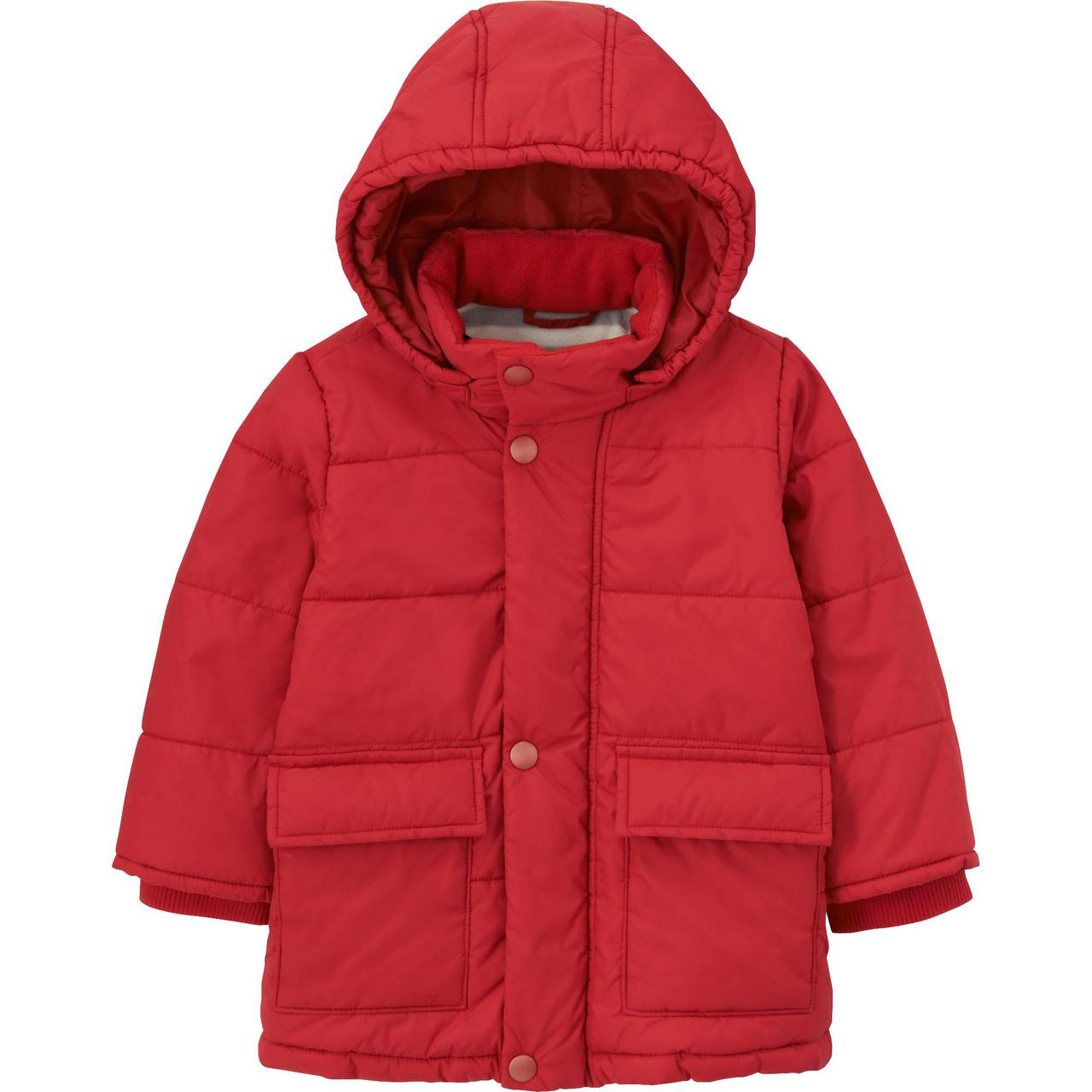 Куртка Uniqlo Toddler Body Warm Lite RED