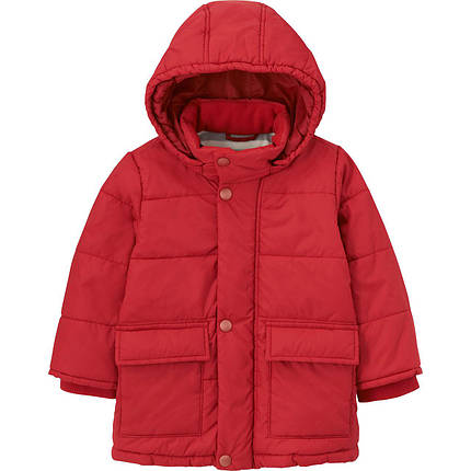 Куртка Uniqlo Toddler Body Warm Lite RED, фото 2