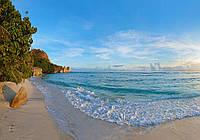 Фотообои 3D Море (368х254, 254х184) Покинутый пляж (11849CN)