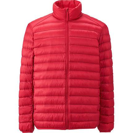Куртка Uniqlo men ultra light down RED, фото 2