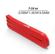 Резиновая петля  PROCIRCLE Красная  (7-16 кг) . Резина для подтягивания  + Сумочки для хранения. Эспандер.