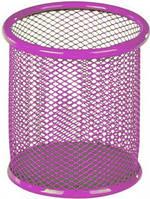 Стакан-подставка для ручек Kite 80х80х100мм металическая розовая K17-2110-10