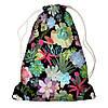 Рюкзак-торба Тропічні квіти