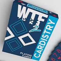 Карты игральные  WTF Cardistry 2 Spelling Deck by De'vo vom Schattenreich and Handlordz