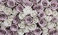 Фотообои 3D цветы 368x254 см Розы бумажные (1627CN)