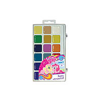 Краски акварельные 18 цветов My Little Pony Kite LP17-042