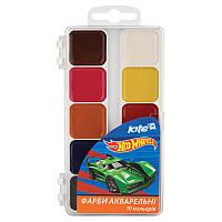 Краски акварельные 10 цветов Hot Wheels Kite HW17-060