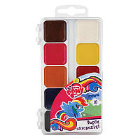 Краски акварельные 10 цветов My Little Pony Kite LP17-060