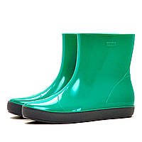 Жіночі гумові чоботи (ботильйони, чоботи) NORDMAN ALIDA світло-зелені з сірої підошвою