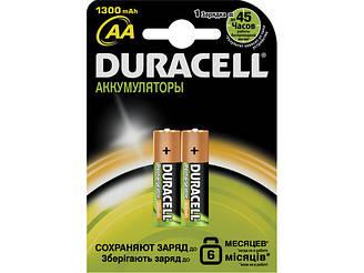 Аккумулятор АА Duracell 1300 mAh 2шт s39186 s.39186
