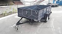 Прицеп легковой двухосный 1500х3000х550 - ЧП Федоров - прицепы и фаркопы Киев