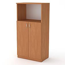Шкаф Книжный КШ-15 Офисный Компанит, фото 2