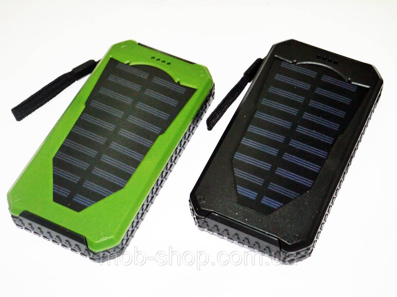 Повер банк Power Bank UKC 25800 mAh на солнечных батареях 2 USB
