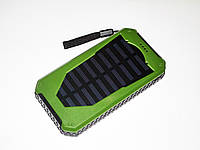 Повер банк Power Bank UKC 25800 mAh на солнечных батареях 2 USB, фото 3