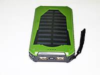 Повер банк Power Bank UKC 25800 mAh на солнечных батареях 2 USB, фото 5