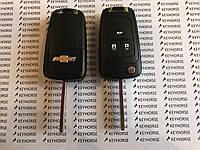 Корпус выкидного автоключа для CHEVROLET (Шевролет круз) CRUZE 3 - кнопки