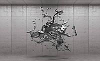 Фотообои 3D фигуры 368x254 см Вода в невесомости (2801CN)